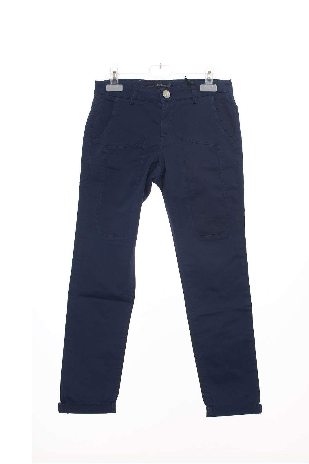 Pantaloni eleganti con toppe anteriori. Adatto anche per ogni giorno.