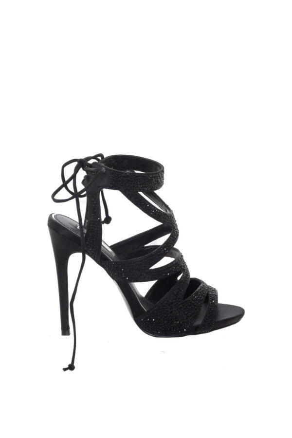 Un sandalo chic ed elegante firmato Ikaros. Ideale per look semplici e delicati, adatti per serate fuori o occasioni speciali. Per la donna che ama calzature femminili e glamour.
