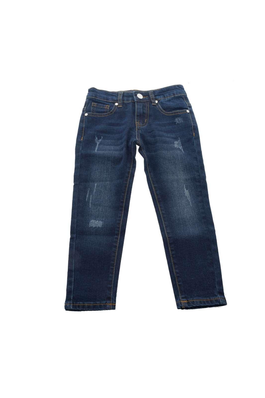 Un must have per ogni bambino questo jeans firmato Silvian Heach. Versatile da abbinare a una semplice t-shirt per un look casual o a una camicetta per un look più elegante, si presta a qualsiasi tipo di outfit e per diverse occasioni.