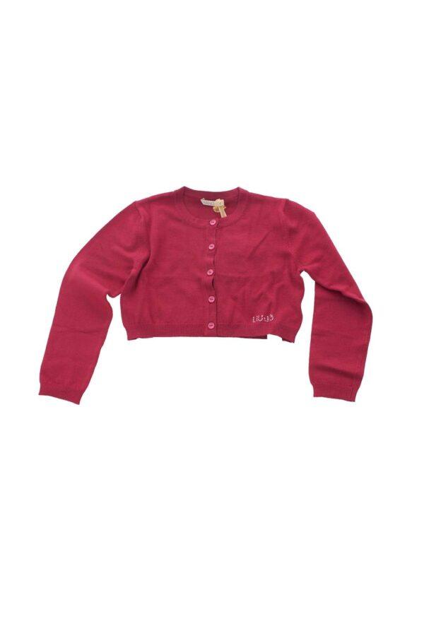 Liu Jo propone alle più piccole questa maglia aperta da indossare sopra una t-shirt per look casual-chic o sopra abitini o gonne per look eleganti, si presta quindi per vari total look assicurando glamour per ogni outfit che creerai.