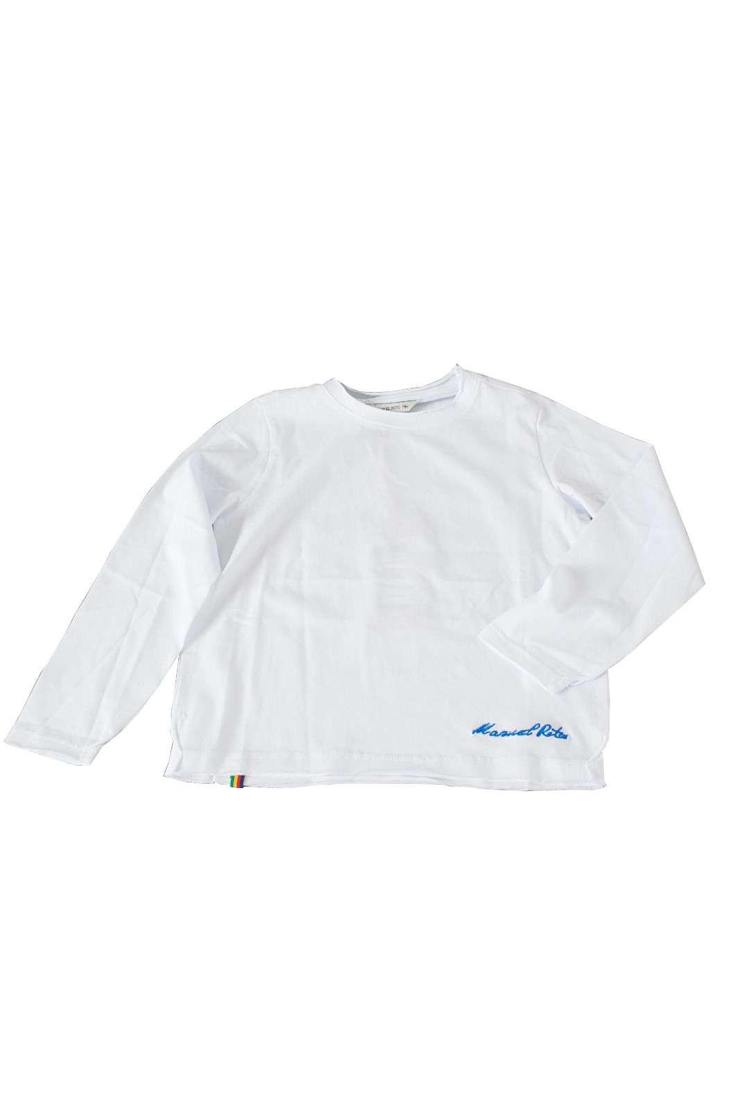 Maglia da bambino in 100% Cotone firmata Manuel Ritz. Un essential in ogni guardaroba è versatile per ogni tipo di outfit, ideale da indossare sotto maglioni o felpe ti terrà caldo nella stagione fredda.