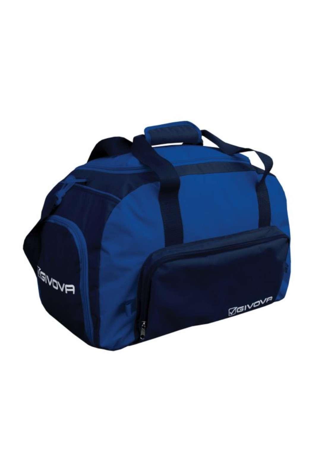Perfetta da portare per le attività sportive la borsa firmata Givova. Le tasche permettono di riporre i propri oggetti divisi per genere, mentre la tracolla regolabile risulta comoda ed essenziale. Un must have.