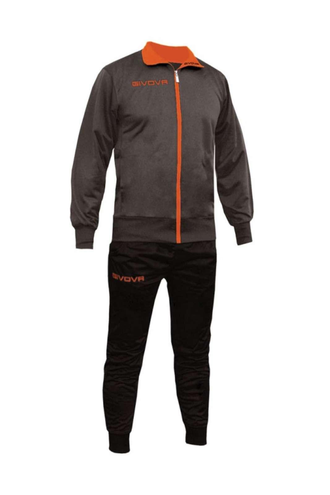 Scopri la nuova tuta uomo firmata Givova. Perfetta per le occasioni più importanti si caratterizza per i suoi dettagli fluo. Comoda e versatile veste i tuoi outfit sportivi con gusto.