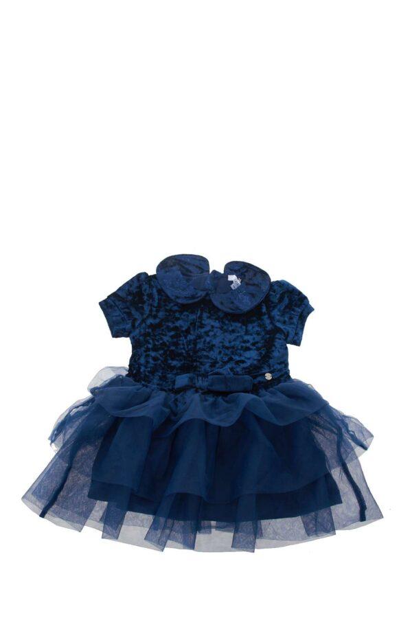 Un abito elegante e femminile ideale da indossare nelle occasioni più formali. Capo must have irrinunciabile per far sentire la tua bambina protagonista in ogni evento.
