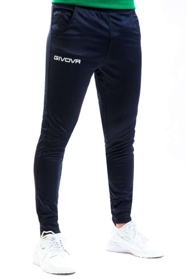 Un pantalone comodo quello firmato Givova uomo.  Caratterizzato da tessuto dalla massima tenuta termica con il minimo peso.  La sua versatilità lo rende ideale per l'allenamento e perfetto per il tempo libero.