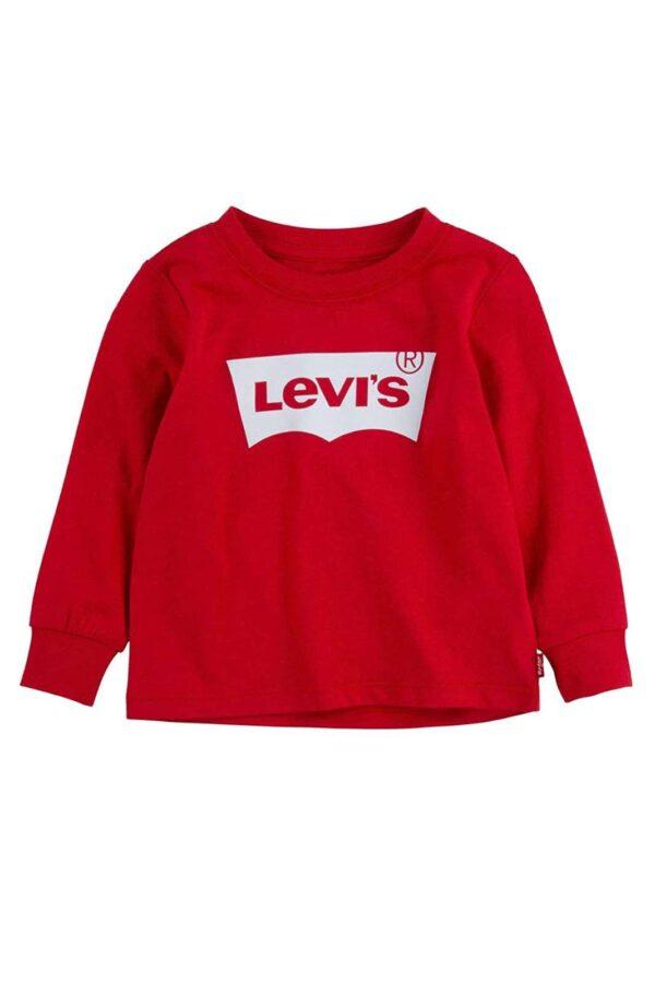 Semplicemente iconica, la maglia firmata Levi's per i più piccoli. Dal look inconfondibile, garantirà uno stile curato e chic.