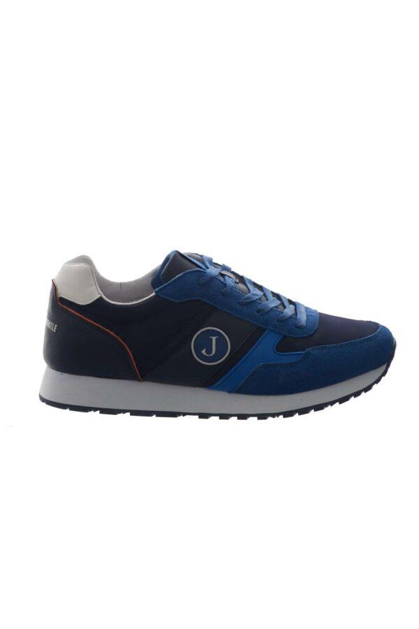 Casual e sportiva, la sneaker firmata Jeckerson, l'ideale per la tua routine quotidiana. La tomaia in pelle scamosciata, è impreziosita, da inserti in vari colori, oltre che dal logo laterale, per uno stile iconico e alla moda.
