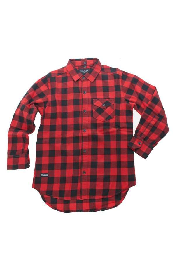 Una camicia dalla vestibilità regolare da considerare un'icona quella firmata dalla collezione bambino Ruff. Il collo classico e la fantasia check sono un must e si impongono per stile. Da indossare sia sola che con T shirt o cardigan è sinonimo di versatilità.