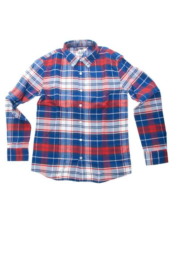 AI outlet parmax camicia bambino tommy hilfiger KB0KB03340