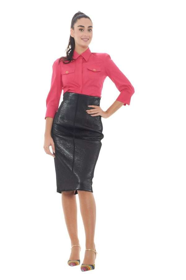 AI outlet parmax camicia donna Elisabetta Franchi CA22496E2 D