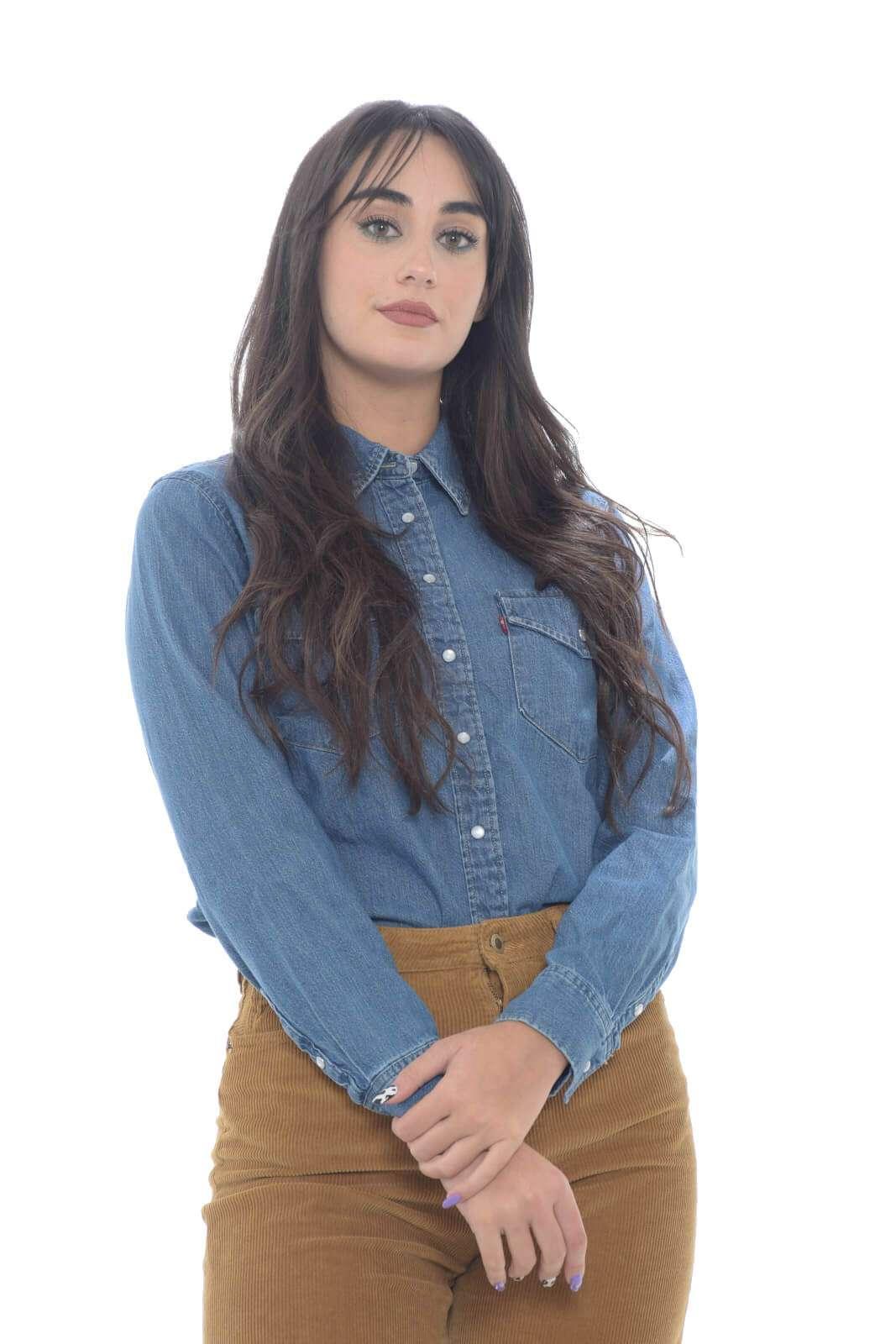 AI outlet parmax camicia donna Levis 16786 0002 A