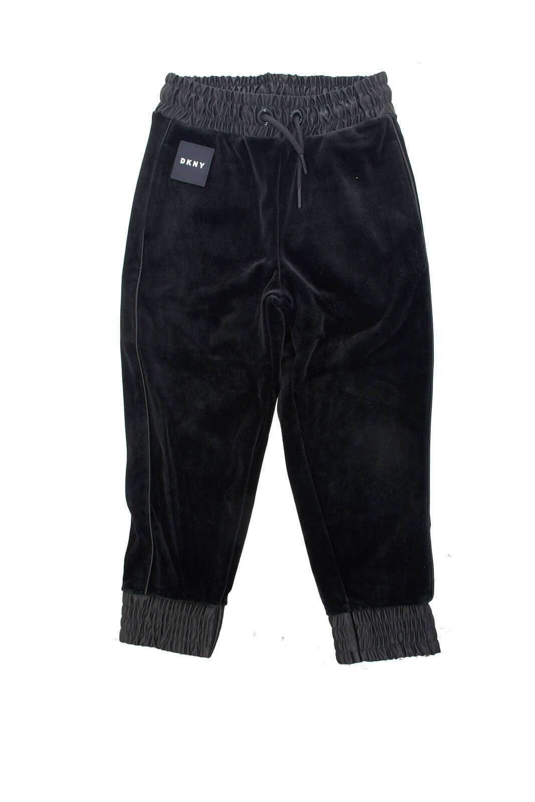 AI outlet parmax pantaloni bambina dkny D34962 A