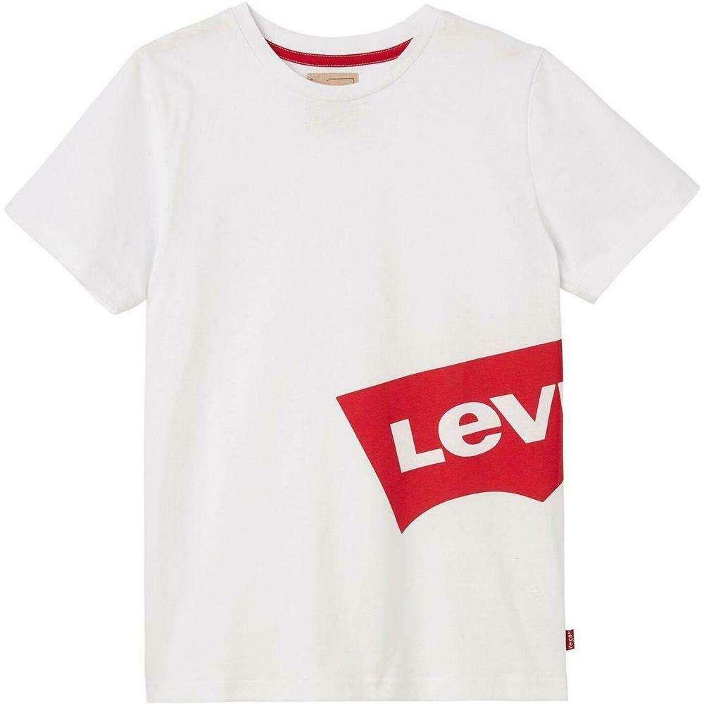 Iconica e stilosa la t shirt firmata Levis per il tuo bambino. Perfetta per outfit impossibili da ignorare.