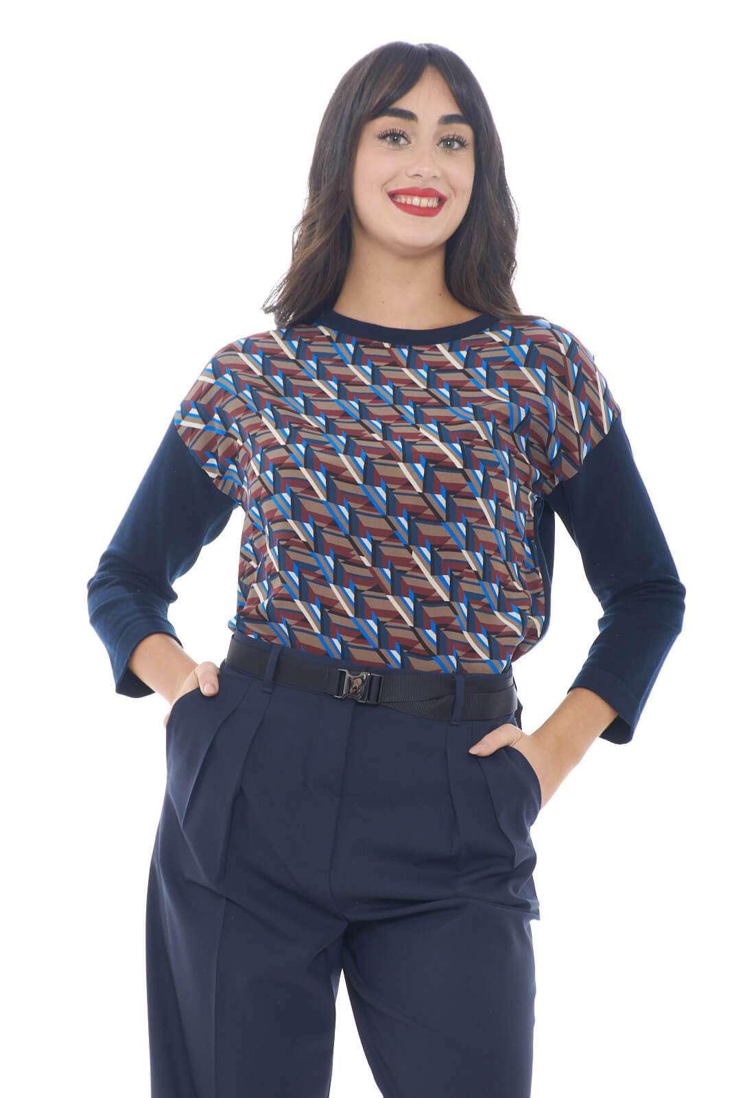 Scopri la nuova maglia in misto seta Zuppa firmata dalla collezione donna Weekend Max Mara. L'inserto in seta è perfetto per essere abbinato con look sofisticati. Adatta alla fredda stagione è un evergreen.