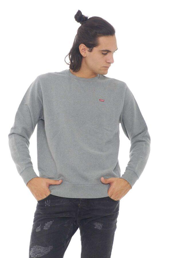 Una felpa dallo stile basic la Original Crew firmata Levi's.  Un capo sostenibile indicato per le occasioni più quotidiane.  Un must have dello sportwear.