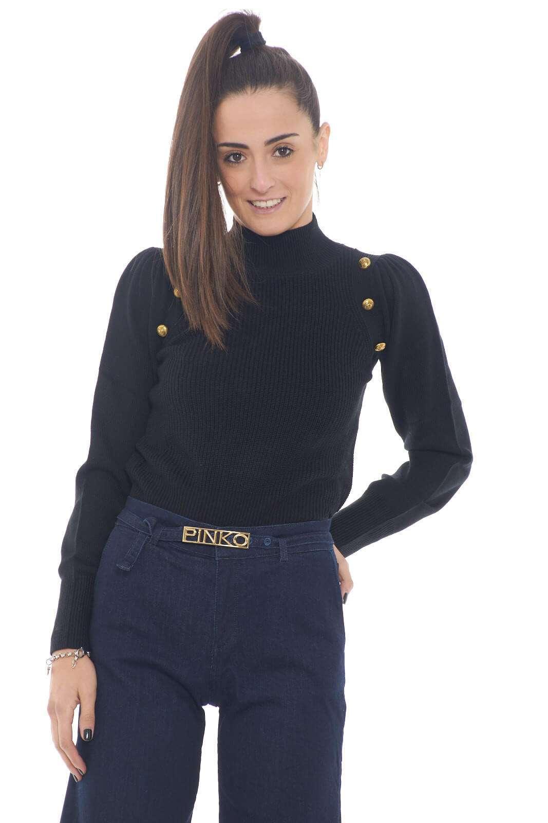 AI outlet parmax maglia donna Pinko 1G15L6 A