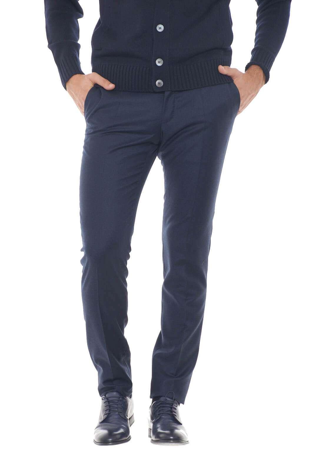 AI outlet parmax pantaloni uomo Incotex 1T0030 1753J A