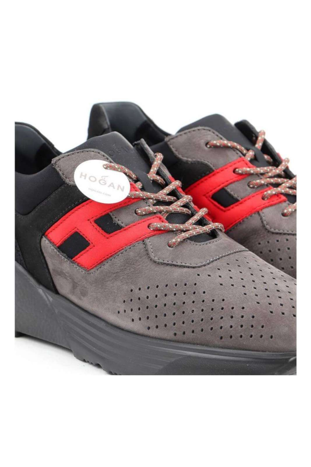 Hogan sneakers uomo ACTIVE ONE in pelle a nabuk