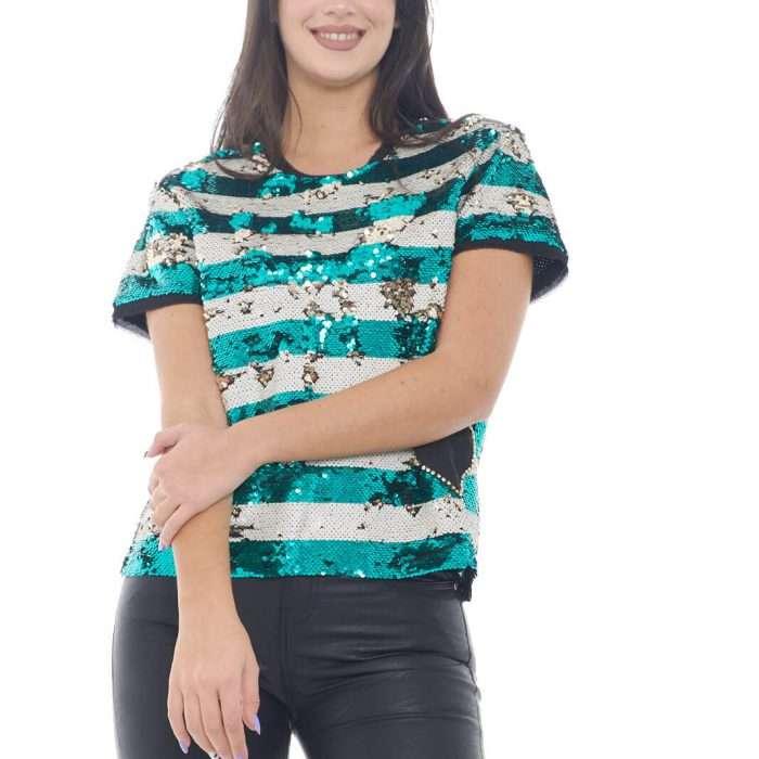 AI outlet parmax t shirt donna Twin Set 201ST2220 A