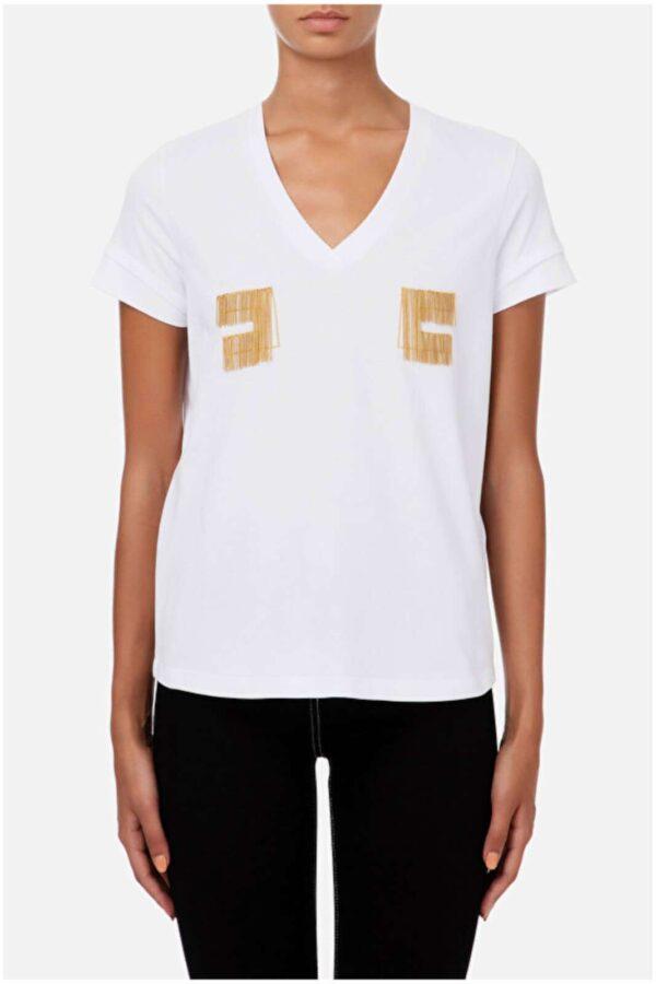 AI outlet parmax tshirt donna elisabett franchi MA15606E2 C