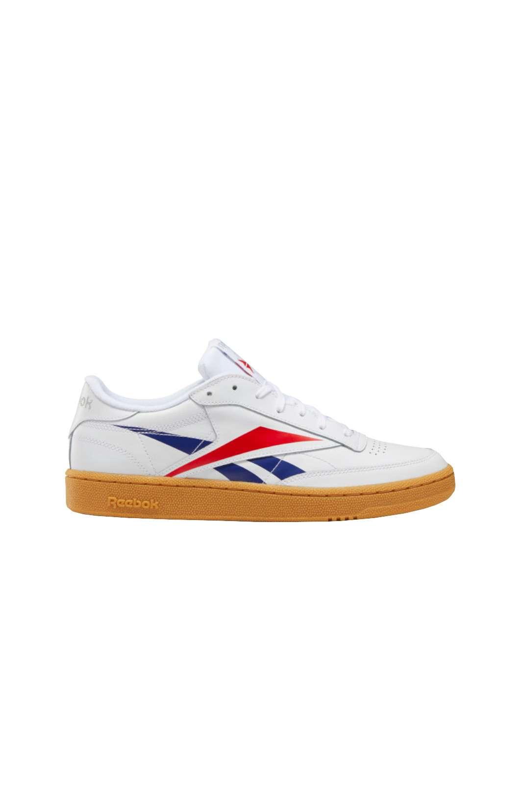 Le scarpe Reebok in pelle sono dotate di un colorato logo Vector per un look anni '90 e di un'intersuola in EVA che garantisce un'ammortizzazione leggera e un comfort duraturo. Per chi ama uno stile classico, ispirato ai modelli da tennis dal carattere rétro