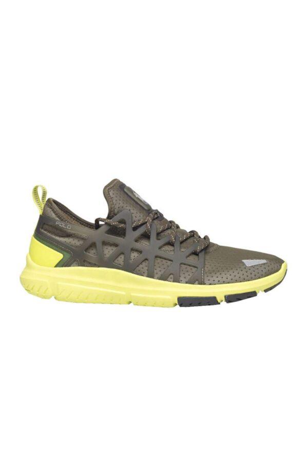 Una sneaker dal design dinamico e iconico, la TRAIN 200 firmata Polo Ralph Lauren. Ispirata allo stile running, offrirà comfort e stile, grazie al fondo in gomma antiscivolo, e ai dettagli curati applicati su tutta la tomaia. Per l'uomo che ama le calzature versatili.