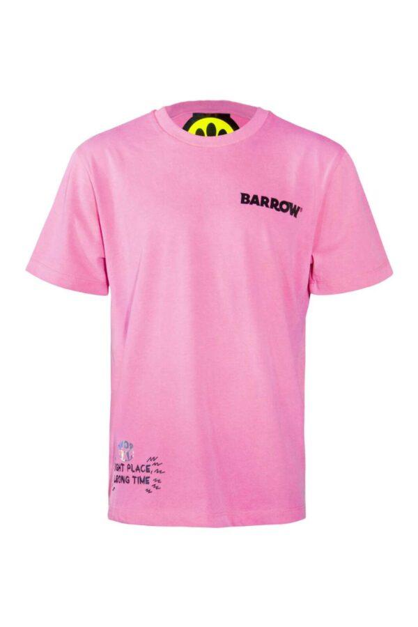 Uno stile frizzante e glamour per le t shirt firmate dalla collezione Barrow. Colori energici e stampe freestyle per i look più glamour. Da indossare con i look più personalizzati è simbolo di stile.
