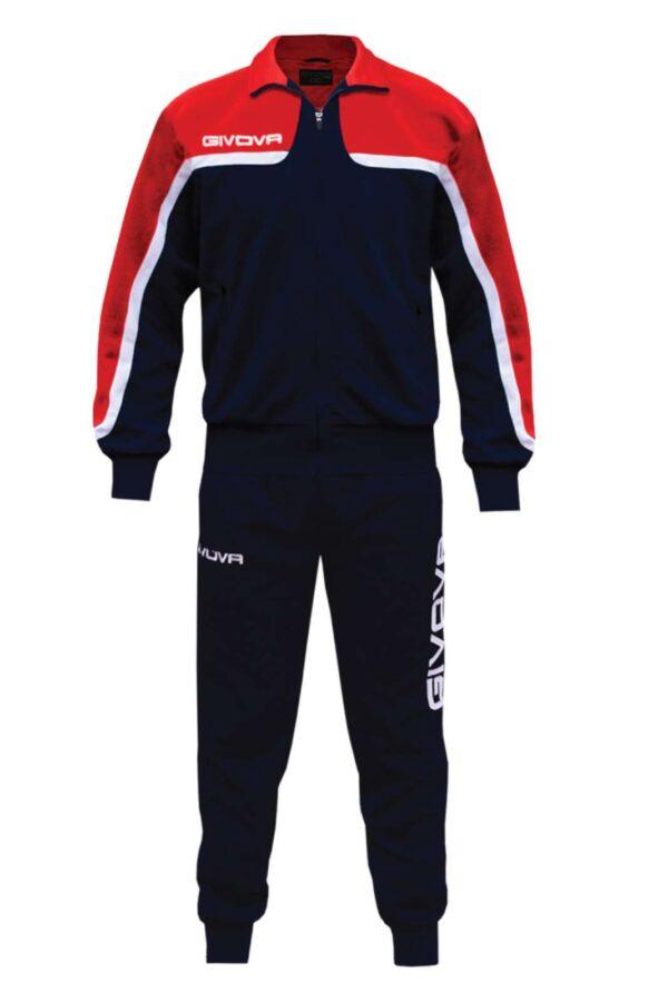 Una tuta ideata per lo sport e per l'allenamento, quella proposta dalla collezione Givova. Da indossare nelle giornate in cui si vuole fare attività fisica, grazie alla comodità. Un evergreen dell'abbigliamento sportivo.