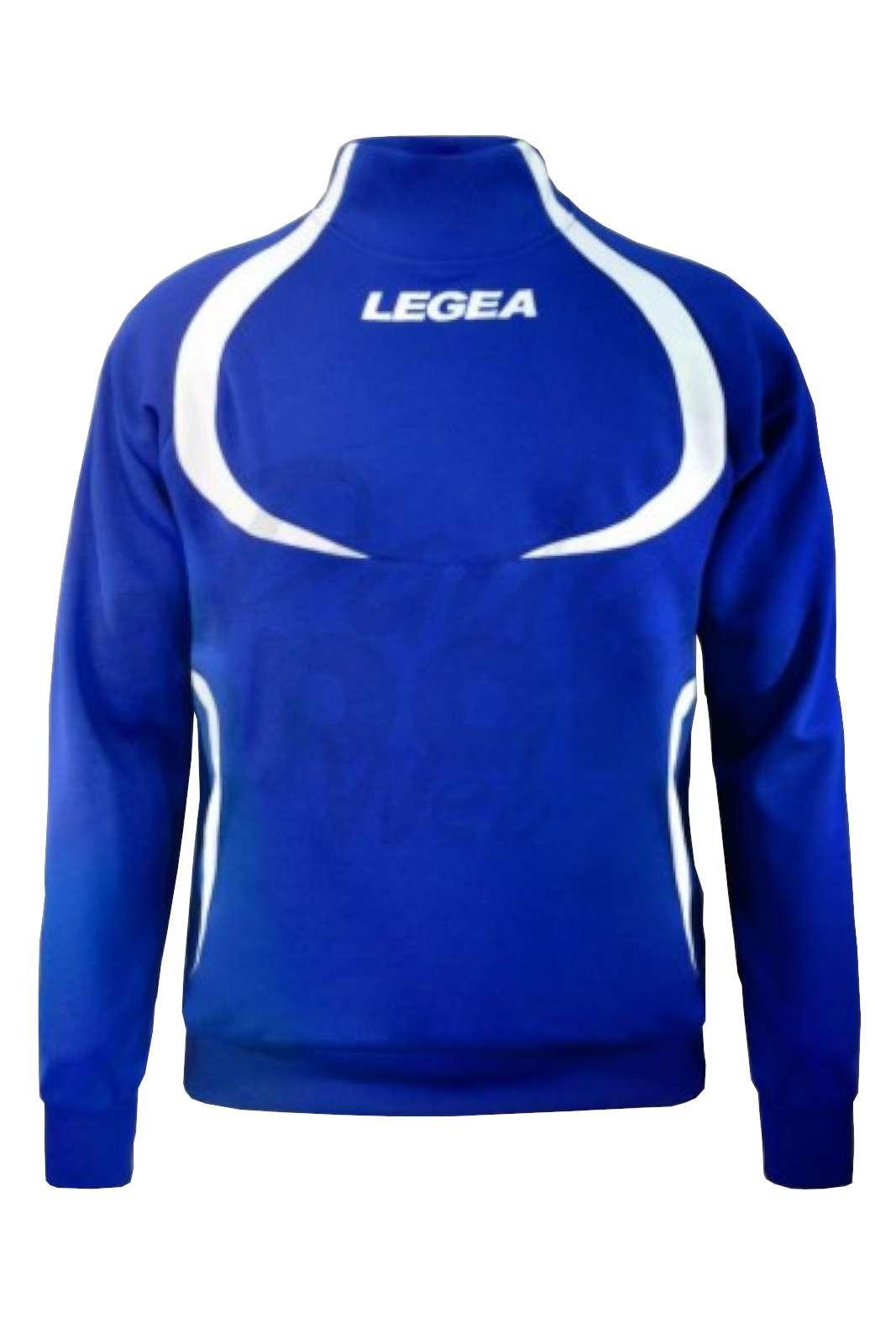 La felpa sportiva Legea Tokyo, ideale da indossare durante le sessioni di allenamento o nel pre-partita.  La giacca sportiva della linea tornado Legea si può abbinare a tutti i pantaloni legea sportivi per uomo.