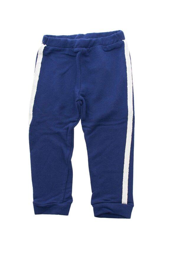 Un pantalone in cotone quello firmato Please da bambina.  Da far indossare alla tua bambina nelle occasioni di tutti i giorni.  Morbido e leggero è l'ideale per la stagione primaverile ed estiva.
