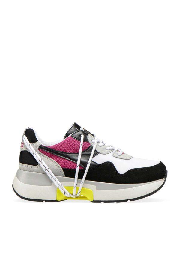Una sneaker colorata e trendy, la Diadora Heritage N9000 TXS H MESH, perfetta per completare outfit casual e colorati.  La calzatura ideale per i tuoi look quotidiani, facile da abbinare a jeans skinny o pantaloni, per uno stile trendy per ogni occasione.