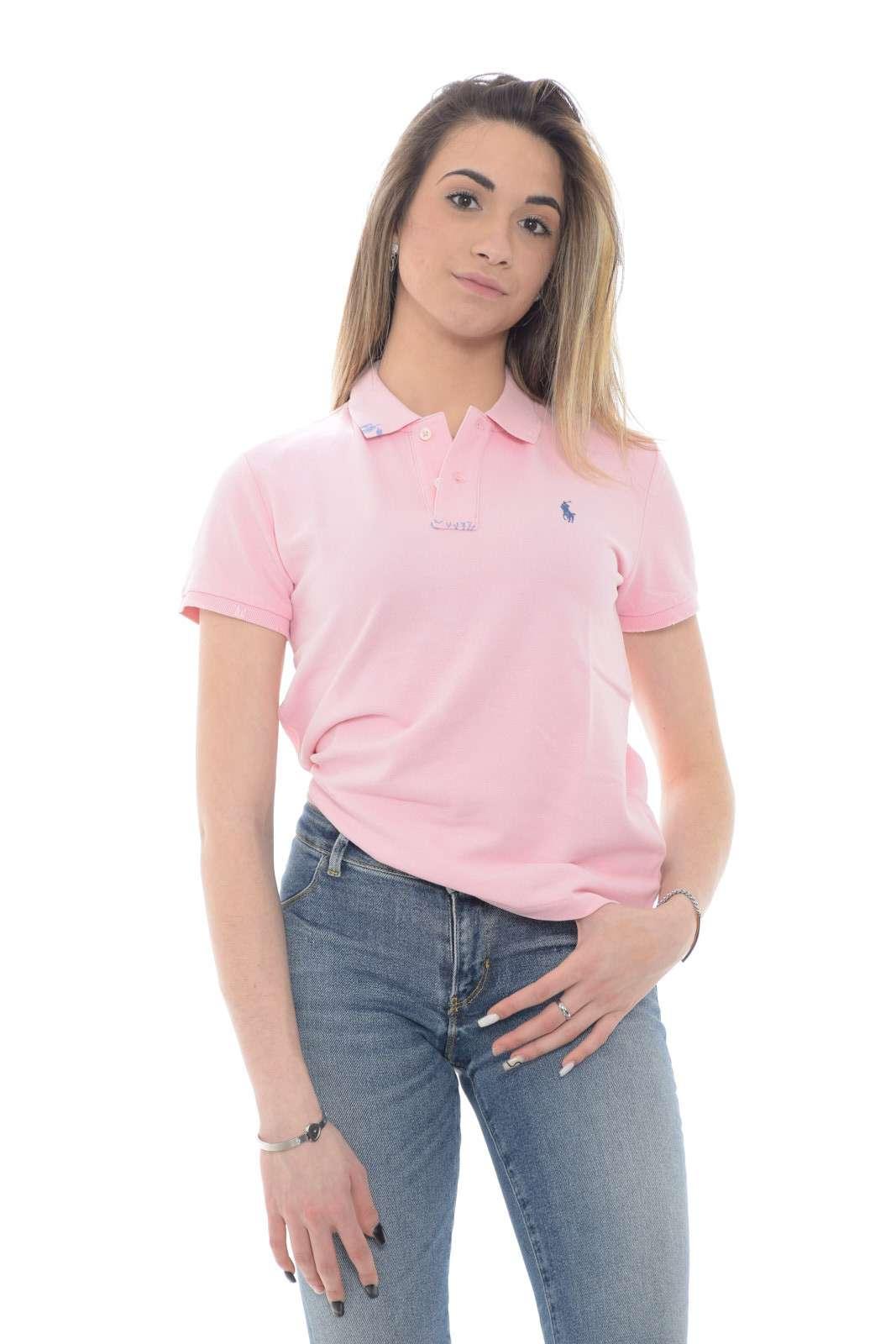 Polo classica e alla moda, per outfit quotidiani trendy ed evergreen, quella firmata Polo Ralph Lauren. Da abbinare ad un semplice jeans, per look casual e impeccabili.