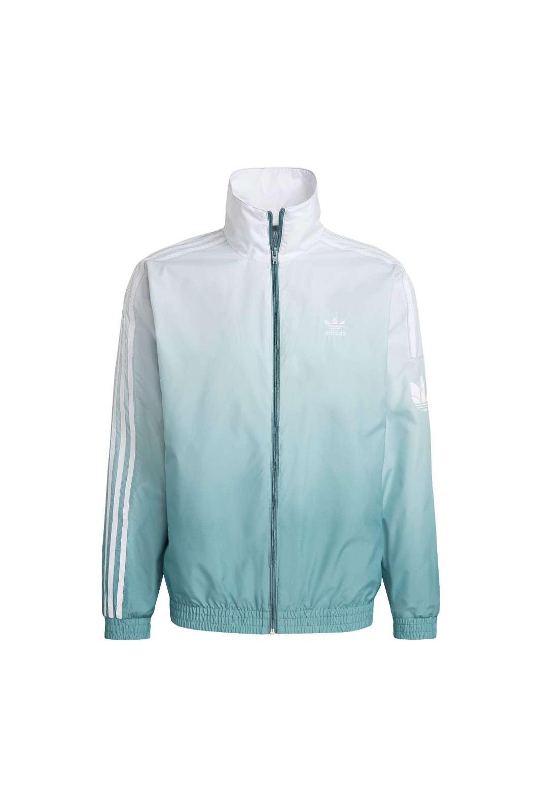 Una giacca fresca e comoda, per l'uomo che ama capi innovativi e versatili. La TRACK JACKET ADICOLOR 3D TREFOIL firmata Adidas, è realizzata in primeblue, un materiale riciclato, che garantisce freschezza e comfort, oltre che uno stile mai visto, grazie all'effetto ombra in 3D, per una sfumatura che dal verde smeraldo passa al bianco. Immancabile nel tuo outfit primaverile.