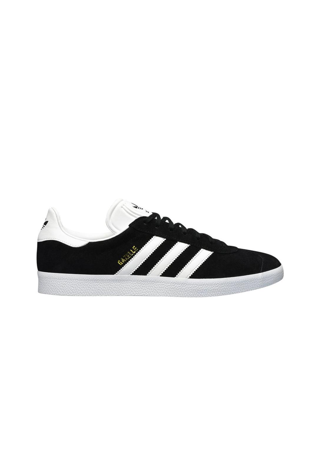 Delle sneakers iconiche le Gazzelle firmate Adidas Originals, perfette per uno stile retrò sempre in voga. Un remake della scarpa originale, rivista per un look più attuale. Le stripes laterali, e il logo inciso, sono i dettagli inconfondibili i questa calzatura.
