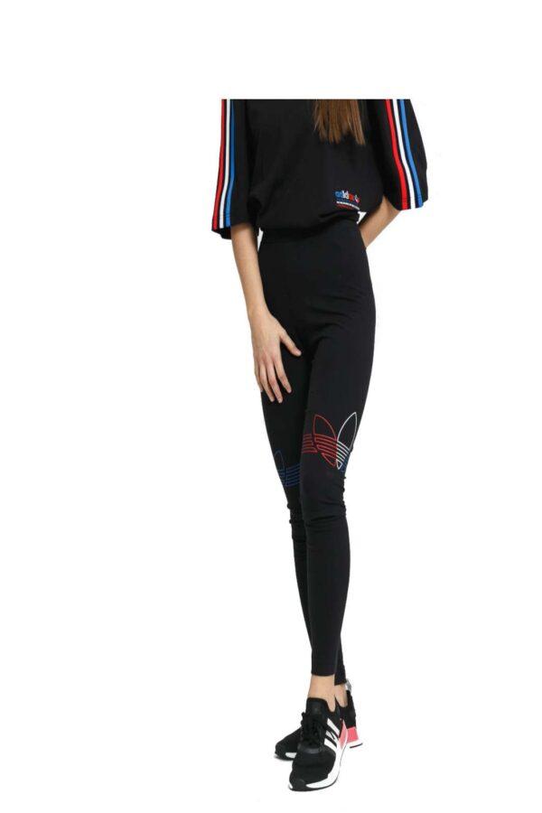 Un leggings sportivo, perfetto per lo sport o outfit veloci e pratici da routine. Un icona dello streetwear attuale, quello firmato Adidas garantirà un'aspetto curato anche nelle occasioni più informali.