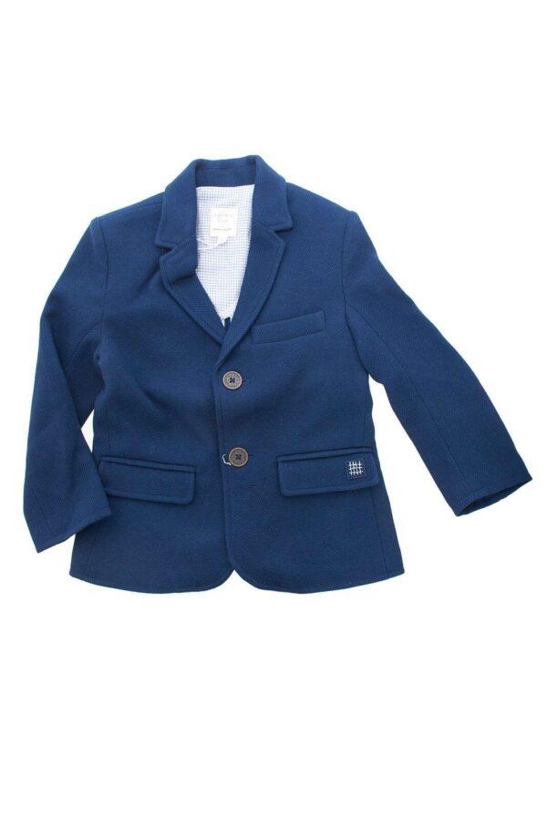 Una giacca elegante ed esclusiva, perfetta per regalare al tuo bambino un look impeccabile nelle occasioni più importanti. Da sfoggiare co una camicia, per cerimonie e feste.