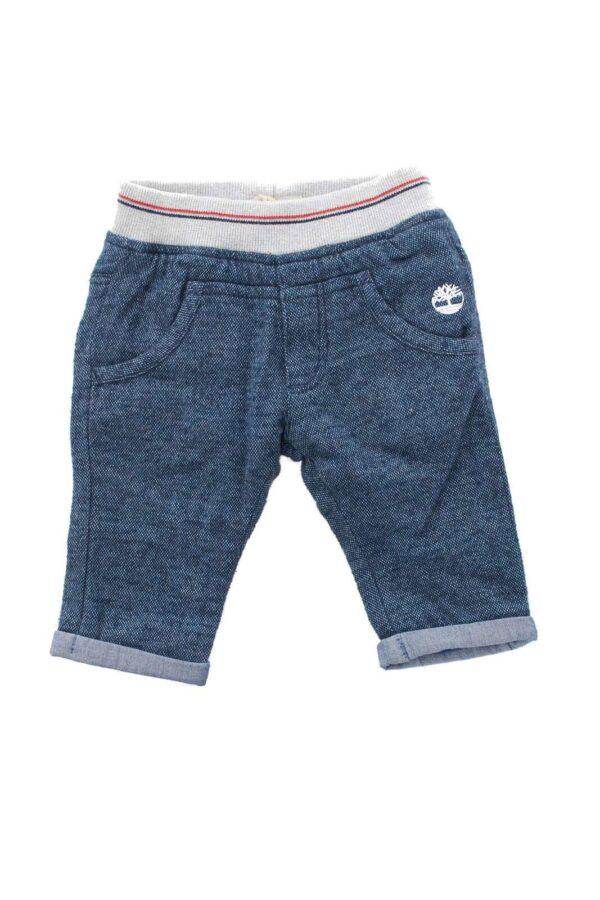 Semplice e curato, questo adorabile pantalone, accompagnerà il tuo bambino nei suoi primi mesi con stile e comodità.