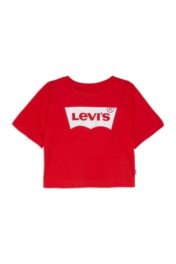 Un must have estivo anche per i più piccoli la t shirt LOGO TEE firmata Levi's. Perfetta per outfit quotidiani, casual e curati.