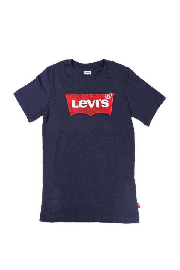 Iconica e moderna, la t shirt LOGO BATWING si differenzia, dal classico modello firmato Levis', per il logo con effetto lana sul petto Ideale per look sempre al passo con le tendenze del momento.